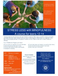 Mindfulness courses